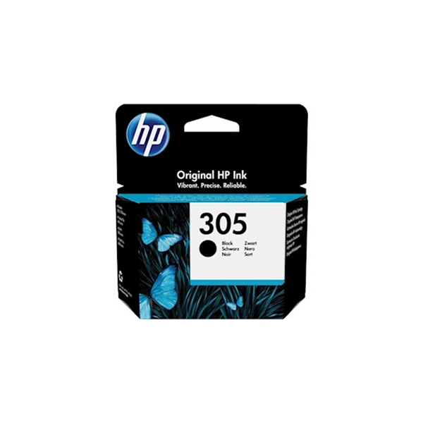 HP 305 Black Original Ink...