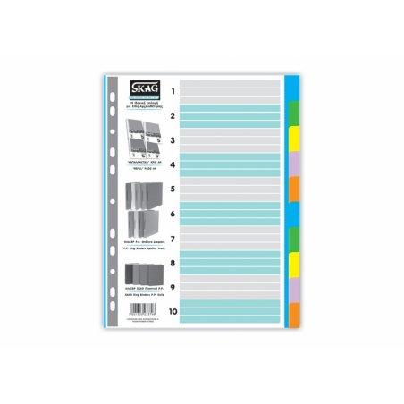 χάρτινα χρωματιστά Α4 SKAG (Φ 1-10)