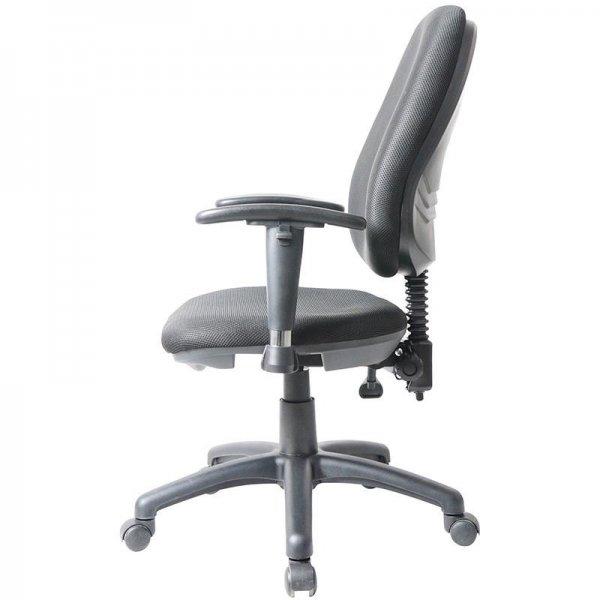 Καρέκλα τροχήλατη μαύρη με...