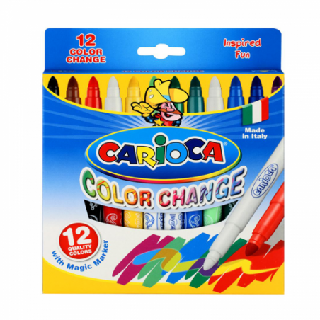 ΜΑΡΚΑΔΟΡΟΙ CARIOCA COLOUR CHANGE