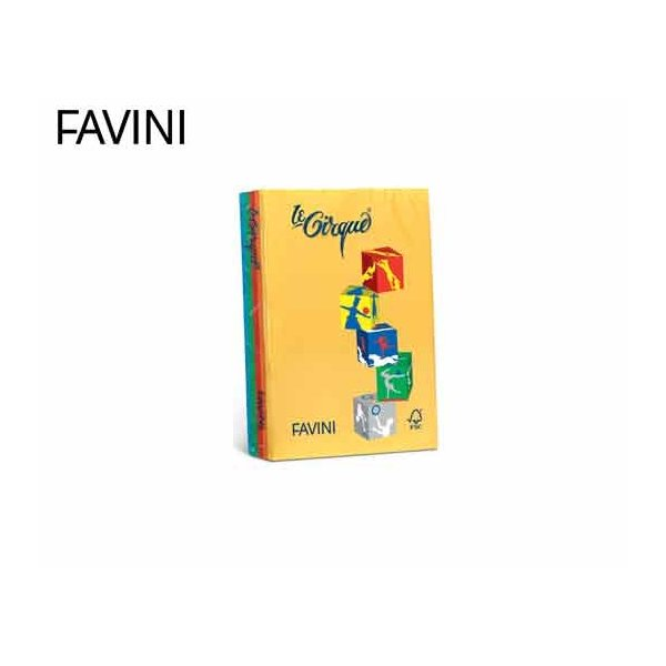 ΧΑΡΤΙ FAVINI Α4 160gr  ΑΣΣΟΡΤΙ