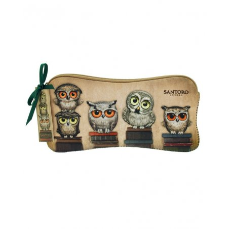 Book Owls Neoprene Accessory Case