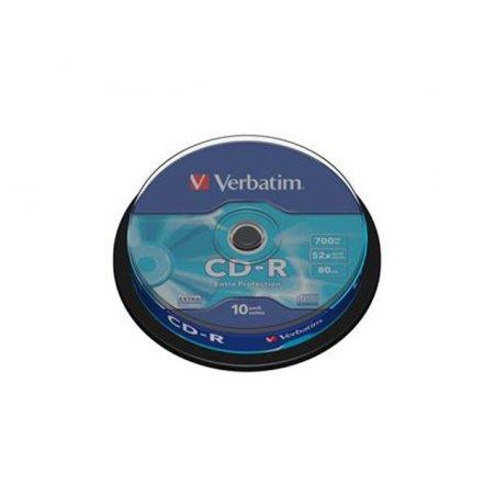 CD-R VERBATIM CAKE 10T.