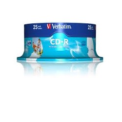 CD-R VERBATIM CAKE 25T.