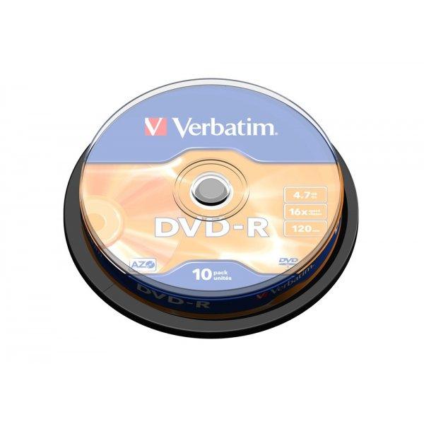 DVD-R VERBATIM CAKE 10