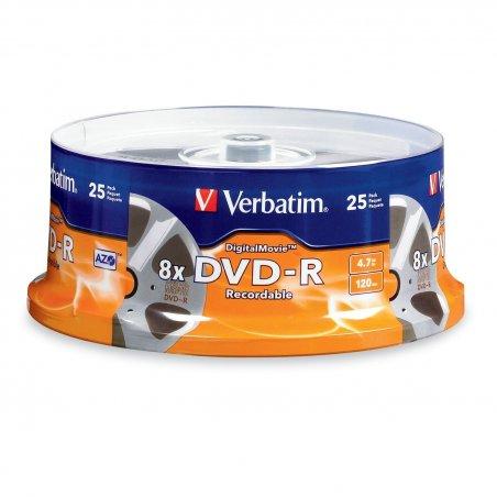 DVD-R VERBATIM CAKE 25T.