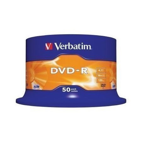 DVD-R VERBATIM CAKE 50T.