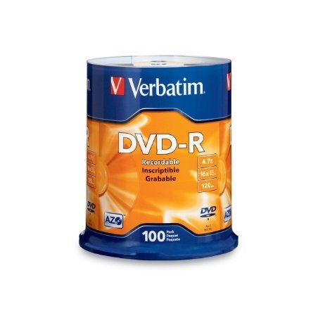 DVD-R VERBATIM CAKE 100T.