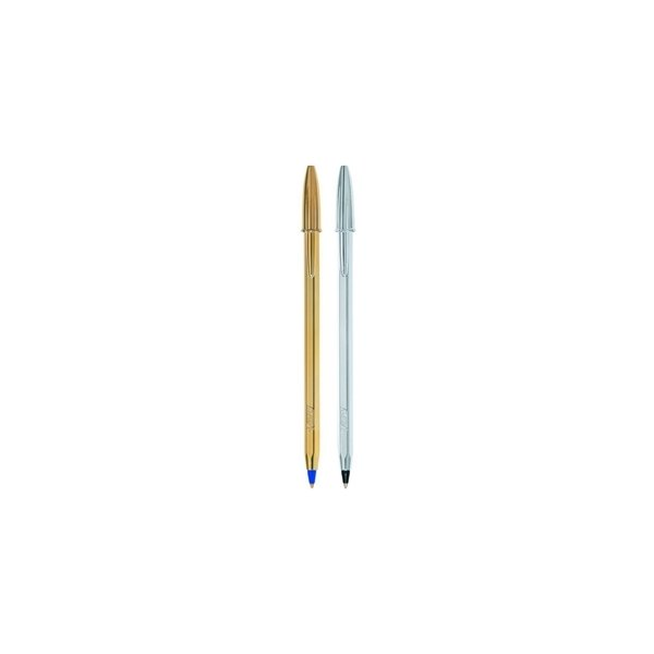 ΣΤΥΛΟ BIC CRISTAL SHINE M GOLD & SILVER 1,0mm