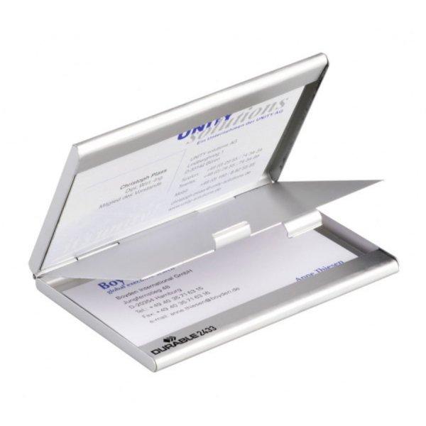 Θήκη καρτών Durable Duo Box 2433