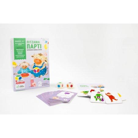 Πιτζάμα πάρτι: Επιτραπέζιο παιχνίδι λογικής