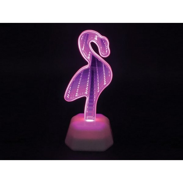 ΔΙΑΚΟΣΜΗΤΙΚΑ TOTAL GIFT XL0957 LED MIRROR FLAMINGO 7,5x7x19cm